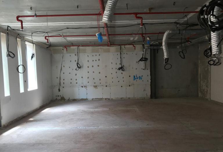 Grégoire ACED architecte - Théâtre de la Cité - pièce à vivre avant travaux