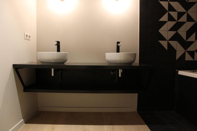 Grégoire ACED Architecte réhabilitation Orangerie - Double vasque Maison B.