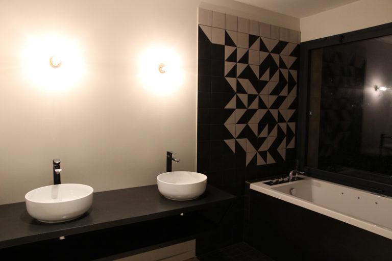Grégoire ACED Architecte réhabilitation Orangerie - Salle de bain - Maison B.