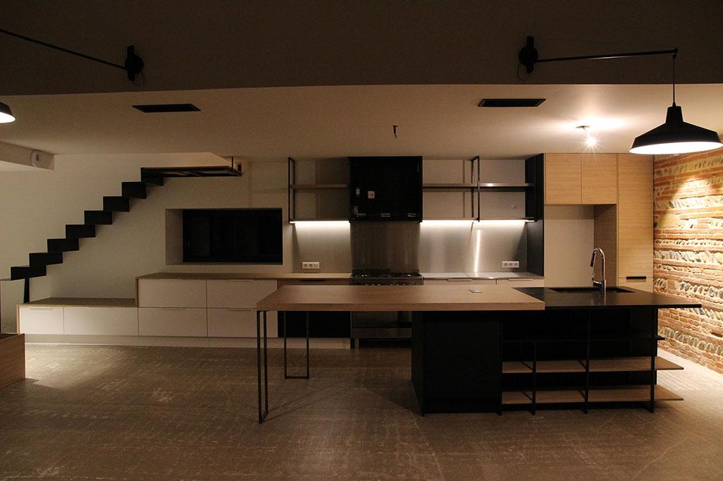 Grégoire ACED Architecte réhabilitation Orangerie en maison individuelle.